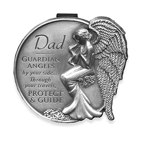 AngelStar 15681 Dad Guardian Angel Visor Clip Accent, 2-1/2-Inch