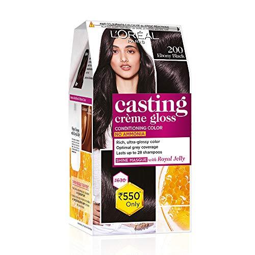 L'Oreal Casting Creme Gloss, Ebony Black 200