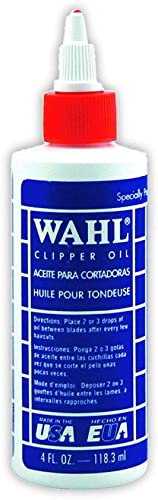 Wahl Professional Animal Blade Oil for Pet Clipper and Trimmer Blades (#3310-230)