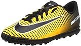 Nike Jr Mercurialx Vortex III TF, Botas de fútbol Unisex niños, Naranja (Laser...