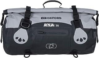 Oxford Aqua T70 Bolsa de Viaje para Motocicleta Color Negro y Fluorescente