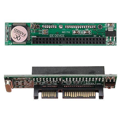 BisLinks® IDE PATA Zu SATA Festplatte Konverter Adapter Stücker Karte 44 Pin Seriell 2.5