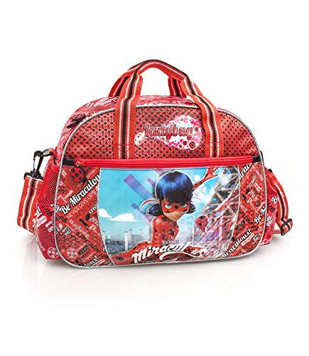 Ladybug Miraculous Premium Sports Travel Bag DOTS