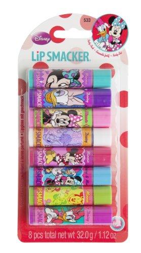 Lip Smacker Coffret 8 Baume à Lèvres Disney Minnie et Daisy
