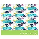 Hero Baby Petit de Queso Fresco y Frutas Variada - Para niños a partir de 6 meses - 12 Packs de 2x80gr