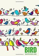 Bird Watching Log: Logbook Journal Notebook Diary | Gifts For Birdwatchers Birdwatching Lovers | Log Wildlife Birds, List Species Seen | Great Book For Adults & Kids (Hobbies) (Volume 8)