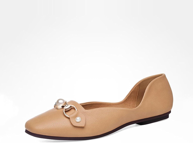 damen Schuhe Frühling Herbst Schwangere Schuhe Frauen Schuhe Einzelne Schuhe Frauen Flache Ferse Schuhe Damen Faule Schuhe Bohnen Erbsen Schuhe