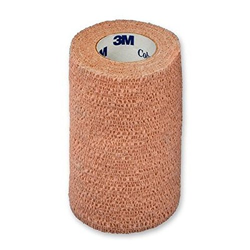 3M Coban Self-Adherent Wrap 1584, Tan, 18 Bags/Case