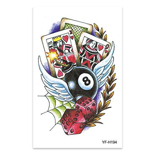 9 piezas pegatinas de tatuaje brazo de flores pegatinas de tatuaje impermeable simulación femenina imagen grande tatuaje de tótem de medio brazo realista duradero Ventas directas europeas y a