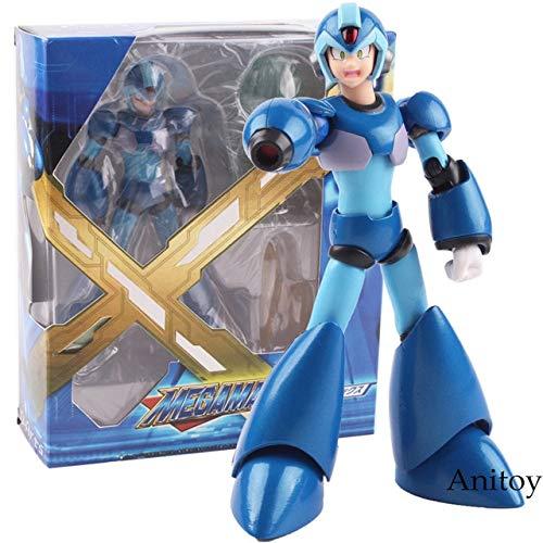 Yvonnezhang Rockman Megaman X Figura de Juego D-Arts Figura de accin de PVC Modelo de coleccin Juguete 13 cm KT4830, Caja A-with