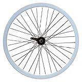 mowheel - ruota posteriore contropedale da 30mm, con freno