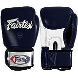 Fairtex Muay Thai Style Training Sparring Gloves, 14 oz, Blue