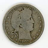 1907 Barber Quarter G-04