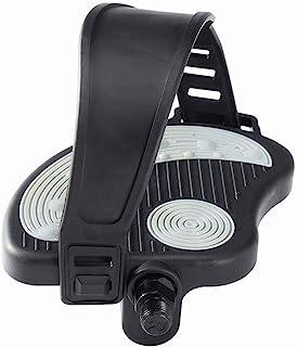 COZYROOMY Pedales de Bicicleta Estática con Correa Ajustable para Pedales de Bicicleta Estática de Interior 6 Meses de Garantía
