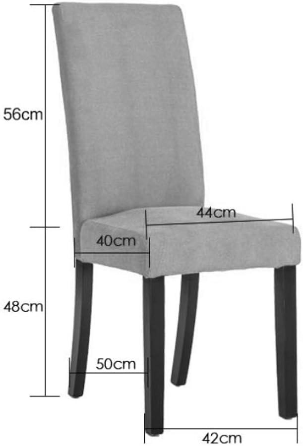 Robuste Simple chaise bureau étudiant et chaise de maquillage tabouret retour à la maison à manger chaise d'ordinateur Spacieux (Color : A) D