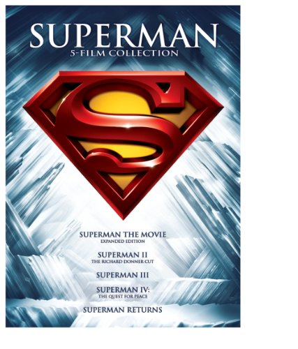 Superman 5 Film Collection $9.92