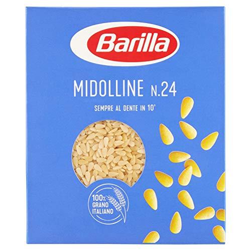 Barilla Pastina Midolline Semola di Grano Duro, 500 gr