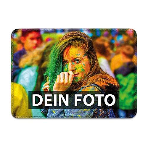 Fußmatte zum selbst Gestalten/mit eigenem Foto Bedrucken Lassen/Schmutzfang-Matte/Fuß-abtreter/Teppich/Gekettelt 70 x 50 cm