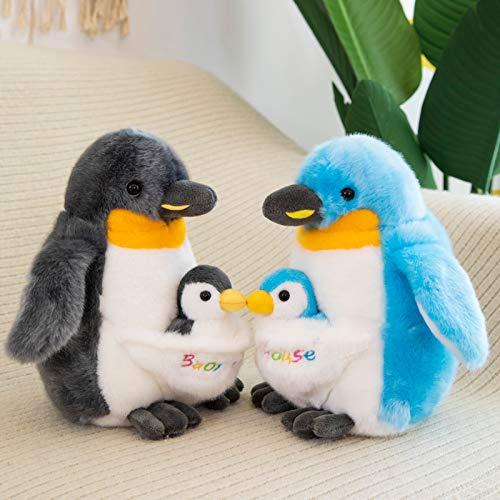 Juguete Peluche Peluche Juguete Relleno Muñeca Dibujos Animados Animal Antártico Sur Polo Lindo Pinganillo Marino Mamá Y Casa Cumpleaños Regalo