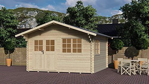 Salón Tienda Online Casa Casa Frankfurt de Madera de jardín 371x371x275h