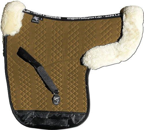 Engel Reitsport ENGEL GERhommeY Tapis de selle en peau de mouton couleur coton chatain clair (Sadek 2) Combinez-vous avec 12 coleur de peau de mouton