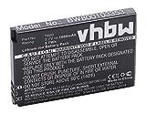 vhbw Li-Ion Akku 1000mAh (3.7V) für Smartphone, Handy, Telefon für Swissvoice MP40 wie T-400.