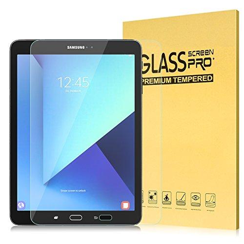 MoKo Samsung Galaxy Tab S2 9.7 Protector de Pantalla - Premium HD Claro 9H Dureza Cristal Templado Película El Revestimiento Oleofóbico para Samsung Tab S3 9.7 Pulgadas 2017, Tab S2 9.7 Pulgadas 2015 Tableta, Cristal Claro