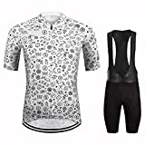HXTSWGS Ciclismo Maillot Hombres Verano Ciclismo Ropa,Summer Cycling Jersey Set,MTB Bicycle Cycling Clothing,Mountain Bike Wear Clothes-A05_XS