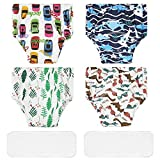 Lictin Baby Potty Training Pants - 4PCS Reusable Cloth Potty Training Underpants