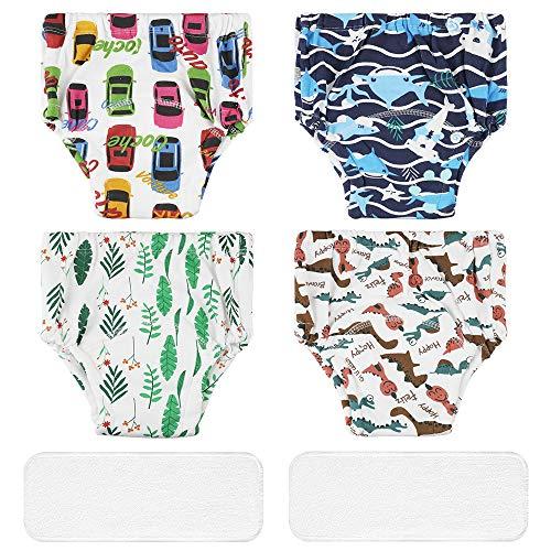 Lictin Baby Potty Training Pants - 4PCS Reusable Cloth Potty Training...
