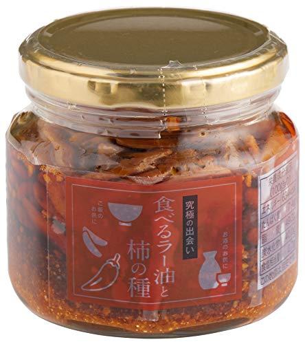 マルシンフーズ 食べるラー油と柿の種 160g