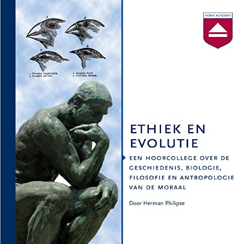 Ethiek en evolutie cover art