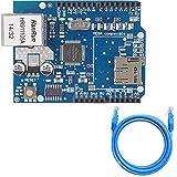 Scheda di espansione Youmile W5100 Ethernet Shield W5100 Ethernet Network Shield con slot per schede SD per Arduino UNO R3 Mega 2560 1280 A057