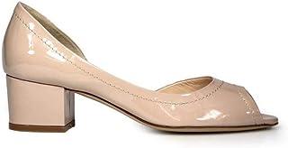 Luxury Fashion   Roberto Festa Women 6051PINK Pink Leather Heels   Season Outlet