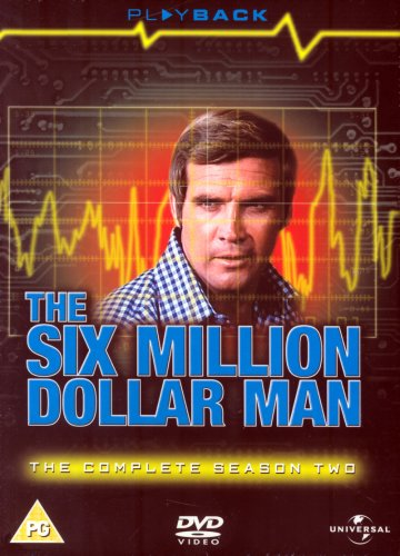 The Six Million Dollar Man - Series 2 (6 DVDs)