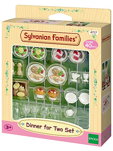 Sylvanian Families 4717 Dinner for Two-Set - Puppenhaus Einrichtung Möbel