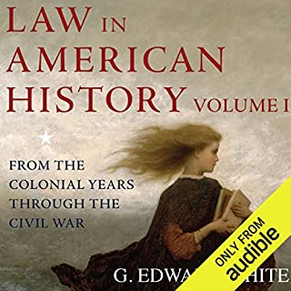 Law in American History audiobook cover art