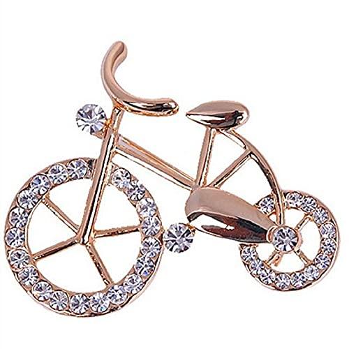 HHBB Broche de moda para mujer con diamantes de imitación de perlas de imitación para fiesta de boda, accesorios de disfraces 04