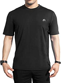 Quick Dry Short-Sleeve T-Shirt Men,Moisture Wicking Athletic T-Shirt,Cooling for T-Shirt Sports Running Training Travel