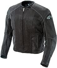 Joe Rocket Phoenix 5.0 Men's Mesh Motorcycle Riding Jacket (Black/Black, XX-Large)