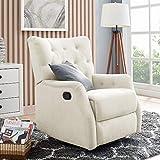 Classic Brands Cynthia Swivel Reclining Glider Chair-Shell