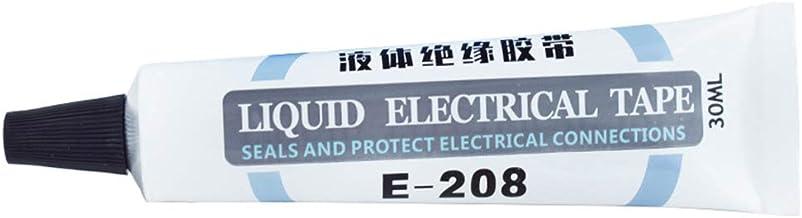 sbay Vloeibare elektrische tape zwart/grijs 1 oz tube isolatie waterdicht snel droog