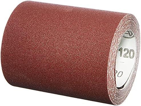 Bosch Professional Rouleau Abrasif Paiper C410 pour Ponage Manuel Grain 120 93mm x 5m
