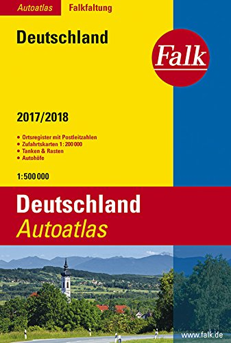 Falk Autoatlas Falkfaltung Deutschland 2017/2018 1:500 000 (Falk Atlanten)
