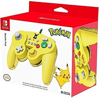 HORI Nintendo Switch Battle Pad  Pikachu  Gamecube Style Controller - Nintendo Switch