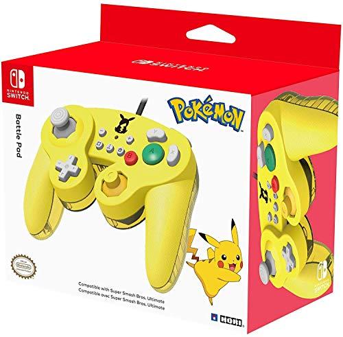 Manette Battle Pad Pikachu pour Nintendo Switch