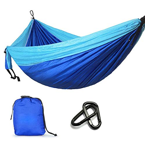 Alexny Hammock, Camping Parachute Garden Outdoor Furniture Leisure Sleeping Travel Double Hammock 300 * 200cm