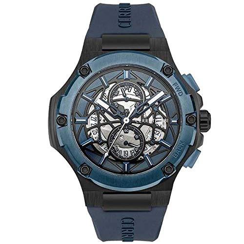 Cerruti Herren-Armbanduhr, Blau CRA29803