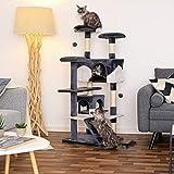 dibea KB00303 Kratzbaum – Kletterbaum für Katzen - 3