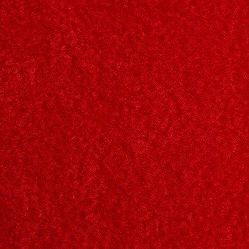 Forro térmico - Antifrisado (antipilling) - De secado rápido y transpirable - 8 colores - Por metro (Rojo)